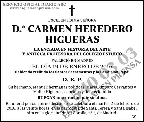Carmen Heredero Higueras